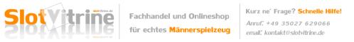 slotvitrine.de - Slotracing Parts - Fachgeschäft für Slotracing und elektrische Autorennbahnen